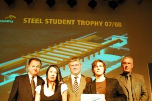 Die Sieger der Steel Student Trophy 07/08