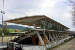 Zuschauertribüne Lipizzaner-Reitfeld - Firma Zeman
