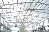 Spulerhalle in Marienhüttte - Unger Stahlbau