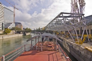 Schiffstation Wien City - Unger Stahlbau