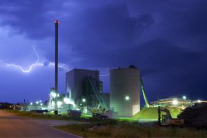 Biomassekraftwerk - Unger Stahlbau