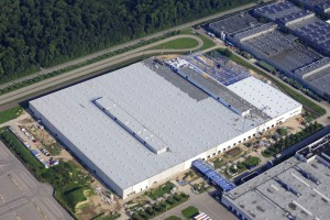 Produktionshalle für Mercedes-Benz - Unger Stahlbau