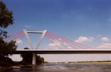 Schrägseilbrücke - Firma MCE Stahl- und Maschinenbau