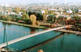 Hängebrücke - Firma Waagner-Biro