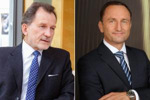 v.l.n.r. Präsident Dr. Thomas Berr, Vizepräsident Mag. Arno Sorger